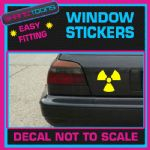 RADIOACTIVE LOGO CAR WINDOW VINYL STICKER DECAL GRAPHICS WALL SIGN